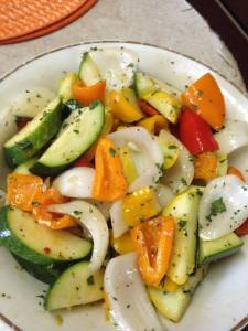 marinated veggies 2